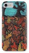 Finding Autumn Leaves IPhone Case