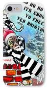 Football Derby Rams Against Bristol Robins IPhone Case