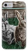 Hare Line  IPhone Case