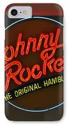Johnny Rockets IPhone Case