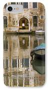 Venice Restaurant On A Canal  IPhone Case
