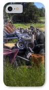Wrecking Yard Study 9 IPhone Case