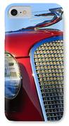 1937 Cadillac V8 Hood Ornament 2 IPhone Case