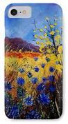 Blue Cornflowers IPhone Case