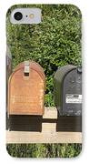 Mail Boxes  IPhone Case