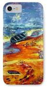 A Canoe At The Beach IPhone Case