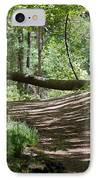 A Path In The Woods IPhone Case