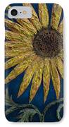 A Sunflower IPhone Case