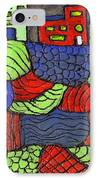 A Very Colorful Neighborhood IPhone Case