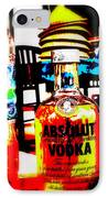Absolut Gasoline Refills For Bali Bikes IPhone Case