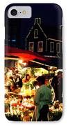 Amsterdam Flower Market IPhone Case