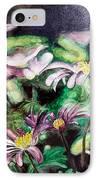 Anemones Japonaises IPhone Case