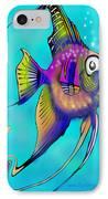 Angelfish IPhone Case