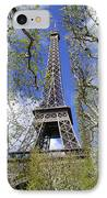 April In Paris IPhone Case