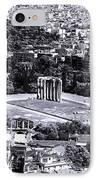 Athens Cityscape Iv IPhone Case