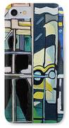 Atlanic City Abstract No.1 IPhone Case