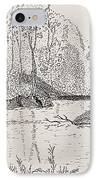 Ausable River At Rock Glen IPhone Case