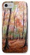 Autumn Forrest IPhone Case