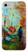 Autumn In Westmount IPhone Case
