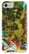 Autumn On Bagg Street IPhone Case