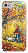 Autumn Walk  IPhone Case