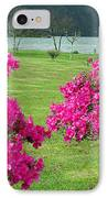 Azaleas At The Azores IPhone Case