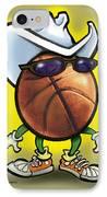 Basketball Cowboy IPhone Case