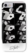 Bauhaus Ballet Six IPhone Case