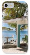 Beach In Grand Turk IPhone Case