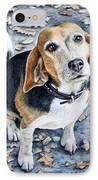 Beagle Nanni IPhone Case