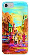 Beautiful Day  In The City IPhone Case