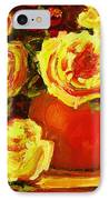 Beautiful Yellow Roses IPhone Case