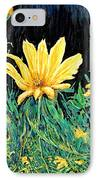 Big Yellow IPhone Case