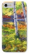 Birches 01 IPhone Case