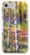 Birches 02 IPhone Case