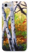 Birches 05 IPhone Case
