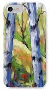 Birches 09 IPhone Case