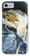 Bird Original Oil Painting IPhone Case