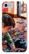 Birthday Party Or A Childs View IPhone Case