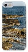 Black Rock Point And Sailboat IPhone Case
