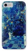 Blue Bunch IPhone Case
