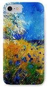 Blue Cornflowers 450108 IPhone Case
