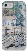 Blue Ridge Church IPhone Case