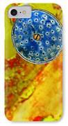 Blue Shower Head IPhone Case