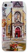 Bonsecours Church IPhone Case