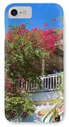 Bougainvillea Villa IPhone Case