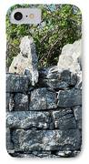 Briars And Stones New Quay Ireland County Clare IPhone Case