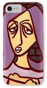Brick Lady IPhone Case