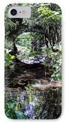 Bridge Reflection At Blarney Caste Ireland IPhone Case