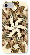 Butterfly Wheel Dance IPhone Case